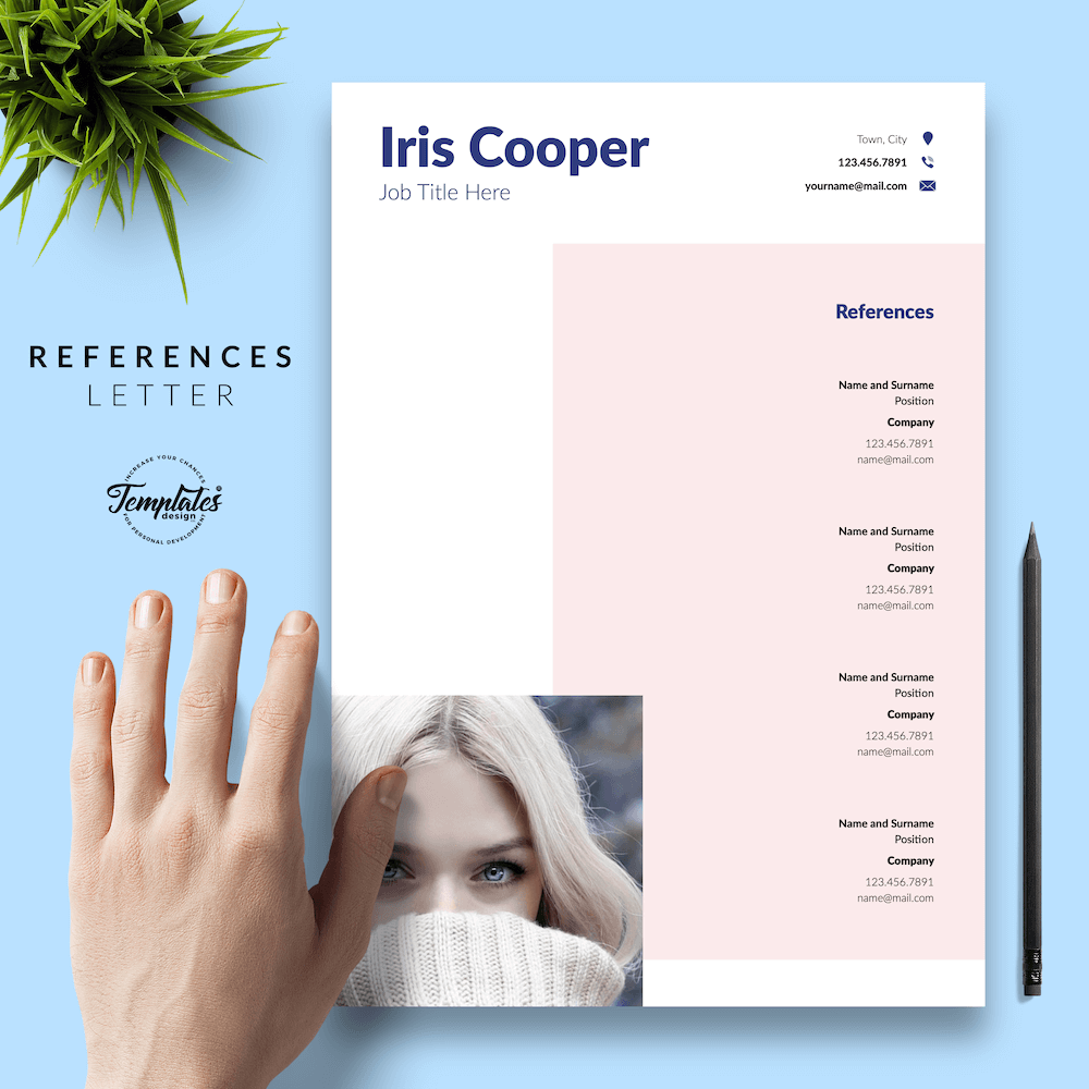 Best CV Template - Iris Cooper 06 - References - New version_V2