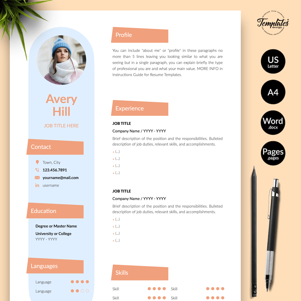 Resume Format for Wedding Jobs - Avery Hill 01 - Presentation - New version