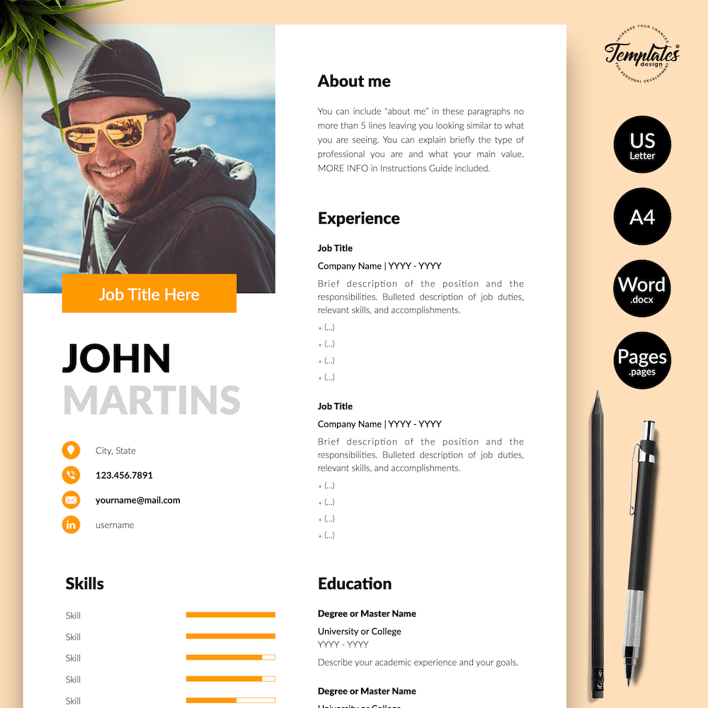 Resume for Marketing Positions - John Martins 01 - Presentation - New version