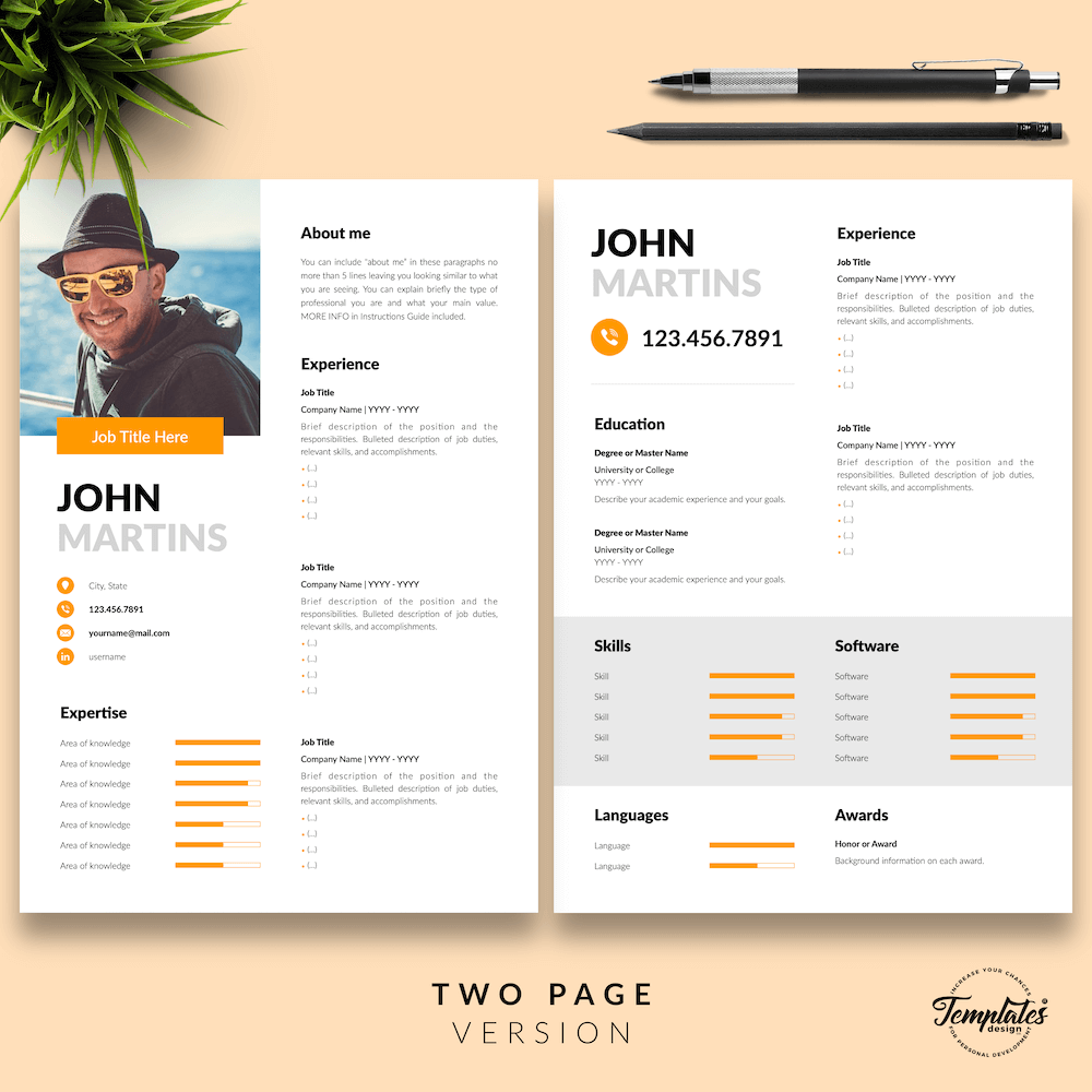 Resume for Marketing Positions - John Martins 03 - Two Page Version - New version