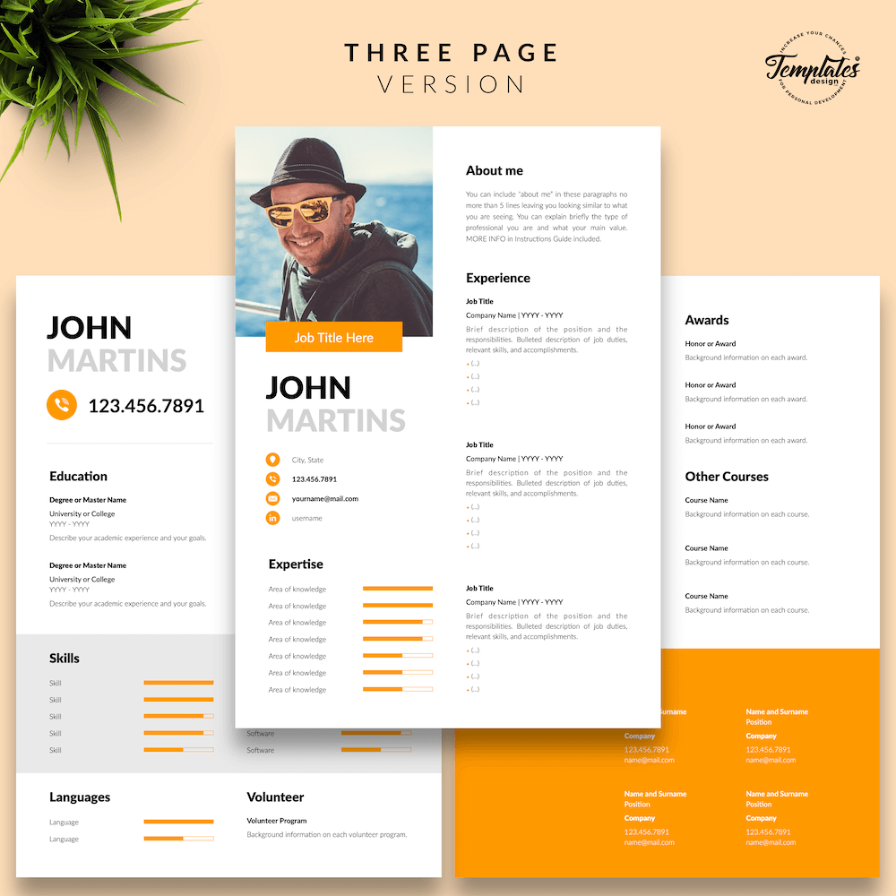 Resume for Marketing Positions - John Martins 04 - Three Page Version - New version