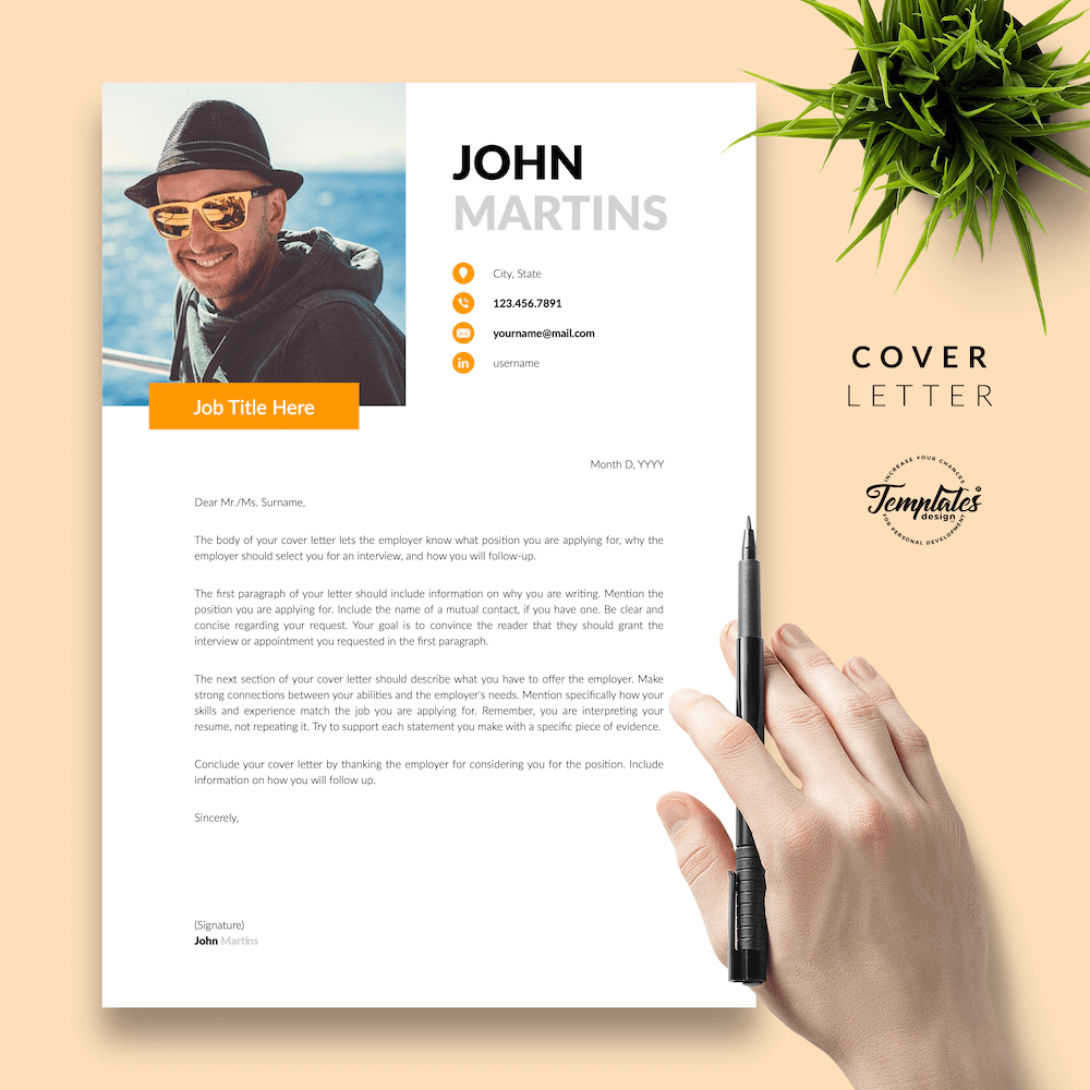 Resume for Marketing Positions - John Martins 05 - Cover Letter - New version