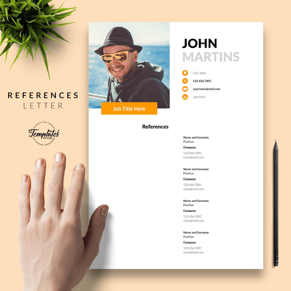 Resume for Marketing Positions - John Martins 06 - References - New version