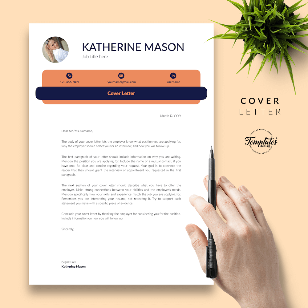 Original Resume Format - Katherine Mason 05 - Cover Letter - New version