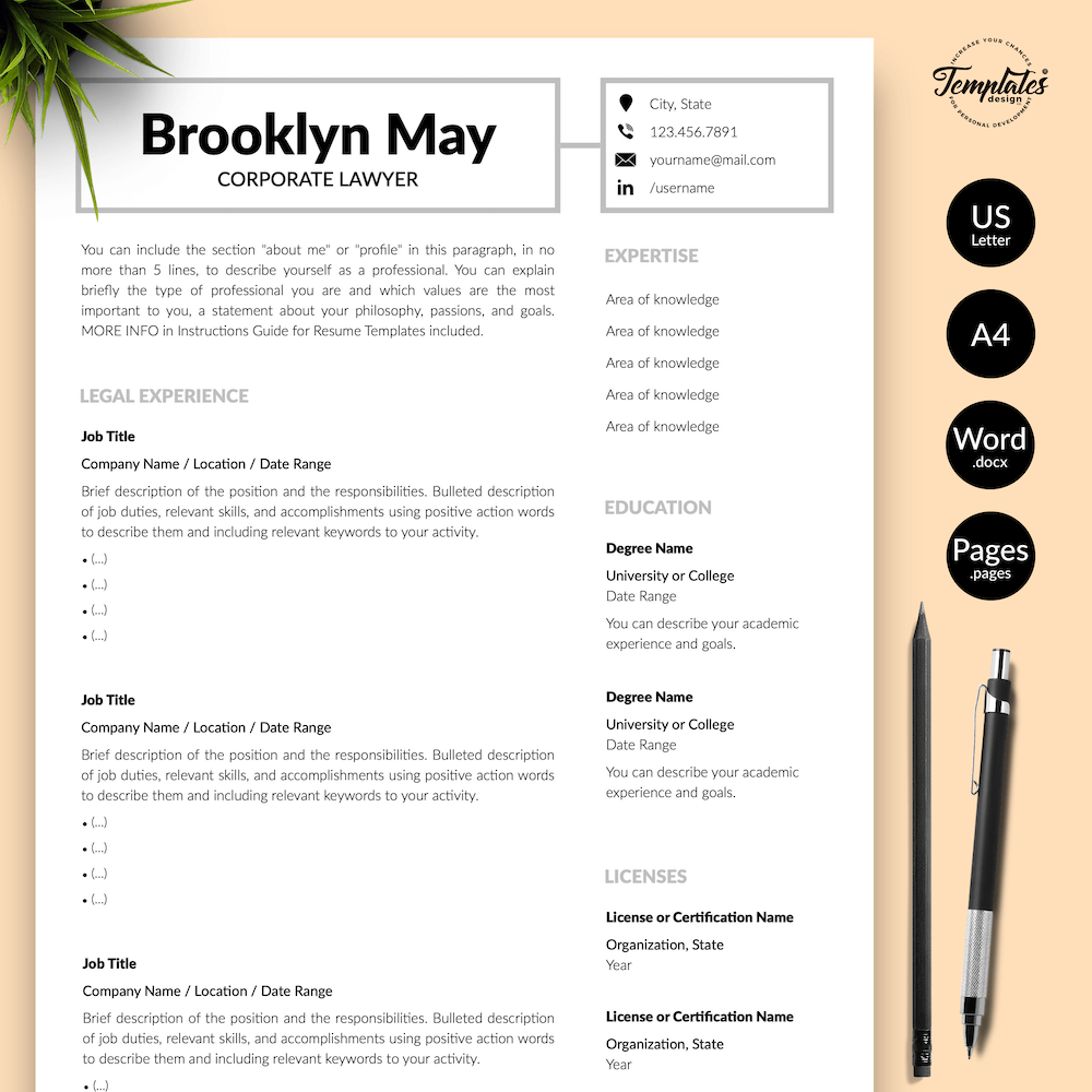 Corporate Lawyer Resume - Brookyn May 01 - Presentation - New version